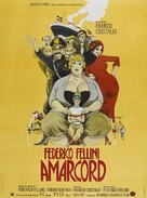 Amarcord - French Movie Poster (xs thumbnail)