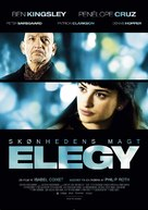Elegy - Danish Movie Poster (xs thumbnail)