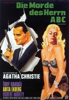 The Alphabet Murders - German Movie Poster (xs thumbnail)