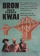 The Bridge on the River Kwai - Swedish Movie Poster (xs thumbnail)