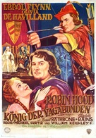 The Adventures of Robin Hood - German Movie Poster (xs thumbnail)