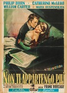 I've Always Loved You - Italian Movie Poster (xs thumbnail)
