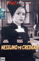 They Won't Believe Me - Italian DVD cover (xs thumbnail)