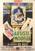 Artists and Models - Italian Movie Poster (xs thumbnail)