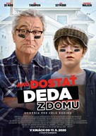 The War with Grandpa - Slovak Movie Poster (xs thumbnail)