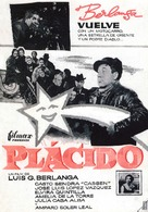 Plácido - Spanish Movie Poster (xs thumbnail)