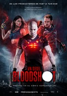 Bloodshot - Spanish Movie Poster (xs thumbnail)
