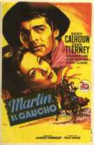 Way of a Gaucho - Spanish Movie Poster (xs thumbnail)