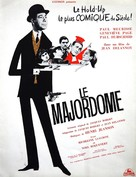 Le majordome - French Movie Poster (xs thumbnail)