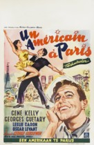 An American in Paris - Belgian Movie Poster (xs thumbnail)