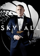 Skyfall - French DVD movie cover (xs thumbnail)