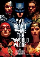 Justice League - Dutch Movie Poster (xs thumbnail)