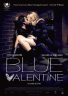 Blue Valentine - Swedish Movie Poster (xs thumbnail)