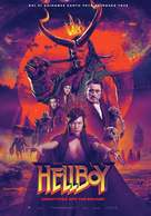 Hellboy - Greek Movie Poster (xs thumbnail)