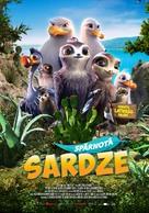 Manou the Swift - Latvian Movie Poster (xs thumbnail)