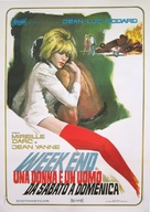 Week End - Italian Movie Poster (xs thumbnail)