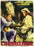 The Bribe - Italian Movie Poster (xs thumbnail)