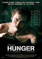Hunger - Norwegian Movie Poster (xs thumbnail)