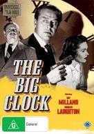 The Big Clock - Australian DVD cover (xs thumbnail)