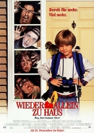 Home Alone 3 - German Movie Poster (xs thumbnail)