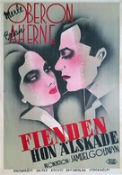 Beloved Enemy - Swedish Movie Poster (xs thumbnail)