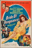 Bride of Vengeance - Movie Poster (xs thumbnail)