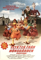 Chicken Run - Swedish Movie Poster (xs thumbnail)