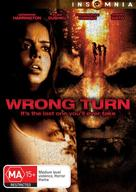 Wrong Turn - Australian DVD cover (xs thumbnail)