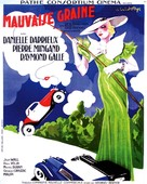 Mauvaise graine - French Movie Poster (xs thumbnail)