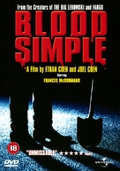 Blood Simple - British Movie Cover (xs thumbnail)