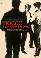 Rocco e i suoi fratelli - German Movie Poster (xs thumbnail)