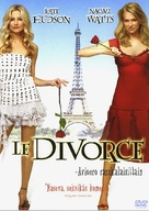Divorce, Le - Finnish DVD cover (xs thumbnail)