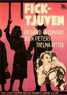 Pickup on South Street - Swedish Movie Poster (xs thumbnail)