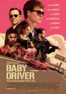 Baby Driver - Czech Movie Poster (xs thumbnail)