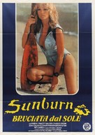 Sunburn - Italian Movie Poster (xs thumbnail)