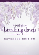 The Twilight Saga: Breaking Dawn - Part 1 - DVD movie cover (xs thumbnail)