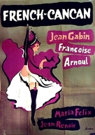 French Cancan - Swedish Movie Poster (xs thumbnail)