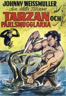 Tarzan and the Mermaids - Swedish Movie Poster (xs thumbnail)