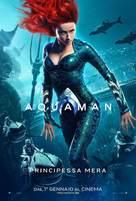 Aquaman - Italian Movie Poster (xs thumbnail)