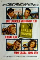 From Here to Eternity - Mexican Movie Poster (xs thumbnail)