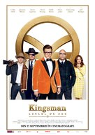 Kingsman: The Golden Circle - Romanian Movie Poster (xs thumbnail)