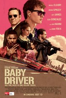 Baby Driver - Australian Movie Poster (xs thumbnail)