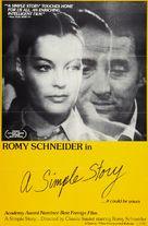 Une histoire simple - Movie Poster (xs thumbnail)