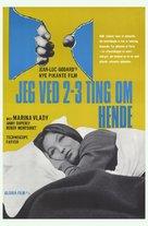 2 ou 3 choses que je sais d'elle - German Movie Poster (xs thumbnail)