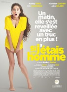 Si j'étais un homme - French Movie Poster (xs thumbnail)