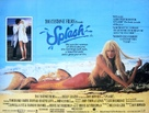 Splash - British Movie Poster (xs thumbnail)