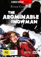 The Abominable Snowman - Australian DVD cover (xs thumbnail)