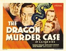 The Dragon Murder Case - Movie Poster (xs thumbnail)