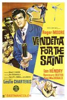 Vendetta for the Saint - Australian Movie Poster (xs thumbnail)