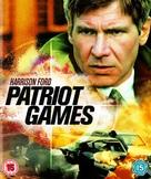 Patriot Games - British Movie Cover (xs thumbnail)